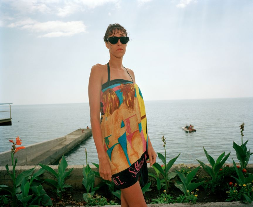 Ukraine 1990s: The city of Yalta on photos by Martin Parr - 37