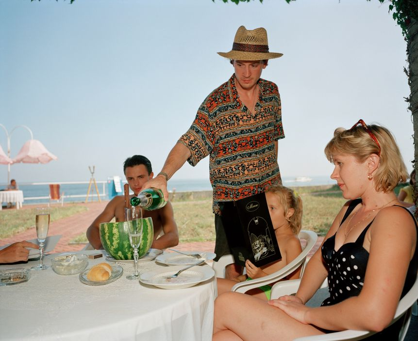 Ukraine 1990s: The city of Yalta on photos by Martin Parr - 39