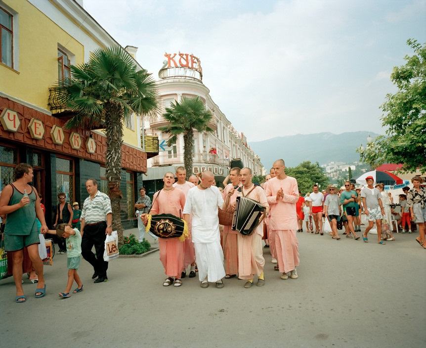 Ukraine 1990s: The city of Yalta on photos by Martin Parr - 4