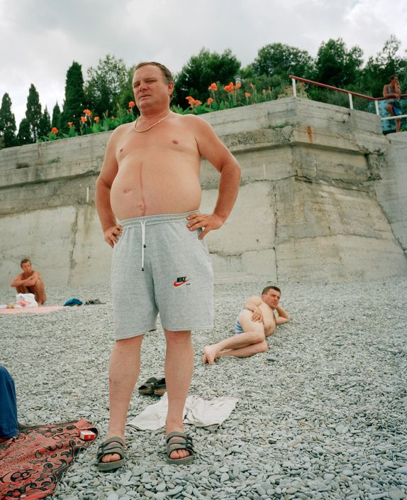 Ukraine 1990s: The city of Yalta on photos by Martin Parr - 42