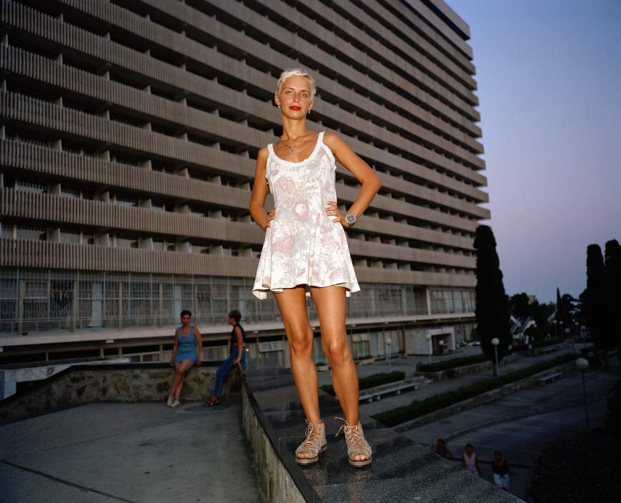 Ukraine 1990s: The city of Yalta on photos by Martin Parr - 7