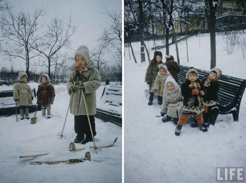 Vintage photos of the harsh winter in the era of Soviet Union - 14