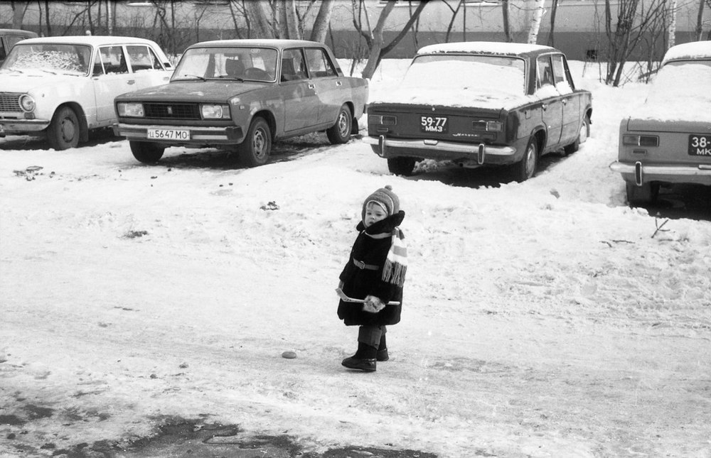 Vintage photos of the harsh winter in the era of Soviet Union - 2