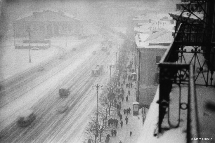 Vintage photos of the harsh winter in the era of Soviet Union - 28