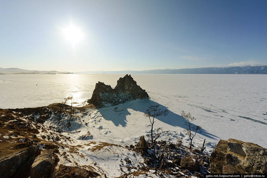 Winter and summer lake Baikal: Delightful photos from the sky - 13