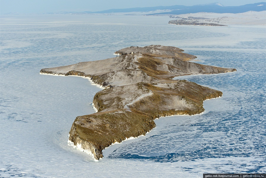 Winter and summer lake Baikal: Delightful photos from the sky - 15
