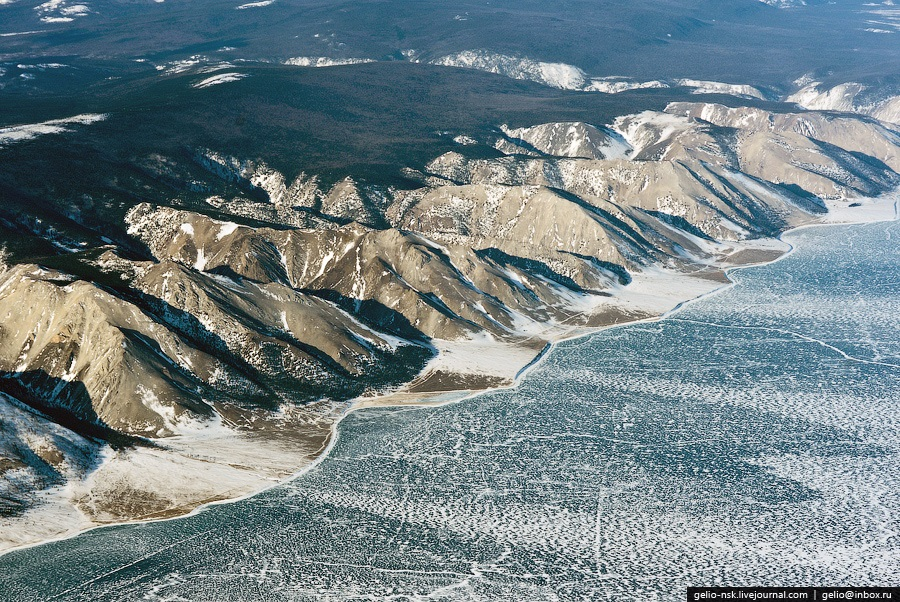 Winter and summer lake Baikal: Delightful photos from the sky - 16
