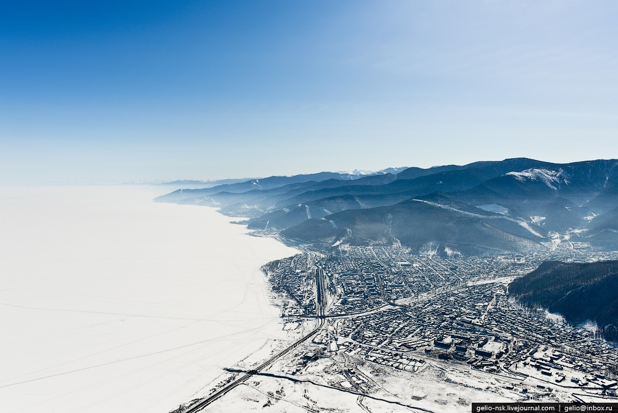 Winter and summer lake Baikal: Delightful photos from the sky - 19