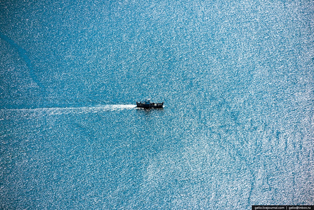 Winter and summer lake Baikal: Delightful photos from the sky - 25