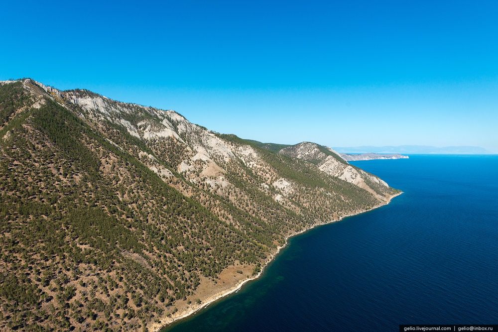 Winter and summer lake Baikal: Delightful photos from the sky - 31