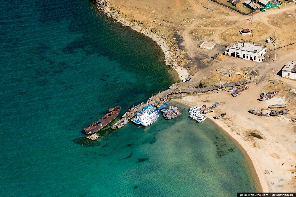 Winter and summer lake Baikal: Delightful photos from the sky - 34
