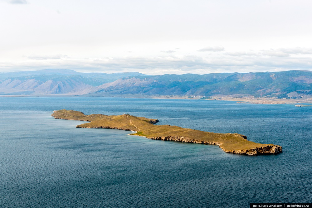 Winter and summer lake Baikal: Delightful photos from the sky - 36