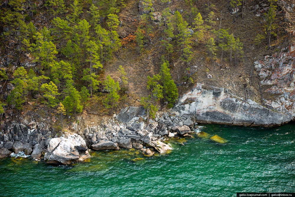 Winter and summer lake Baikal: Delightful photos from the sky - 37