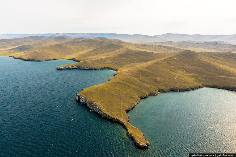 Winter and summer lake Baikal: Delightful photos from the sky - 38