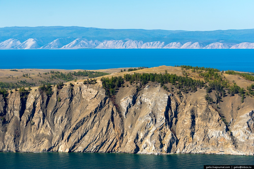 Winter and summer lake Baikal: Delightful photos from the sky - 39