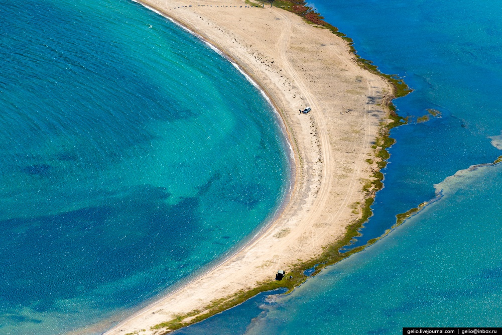 Winter and summer lake Baikal: Delightful photos from the sky - 41