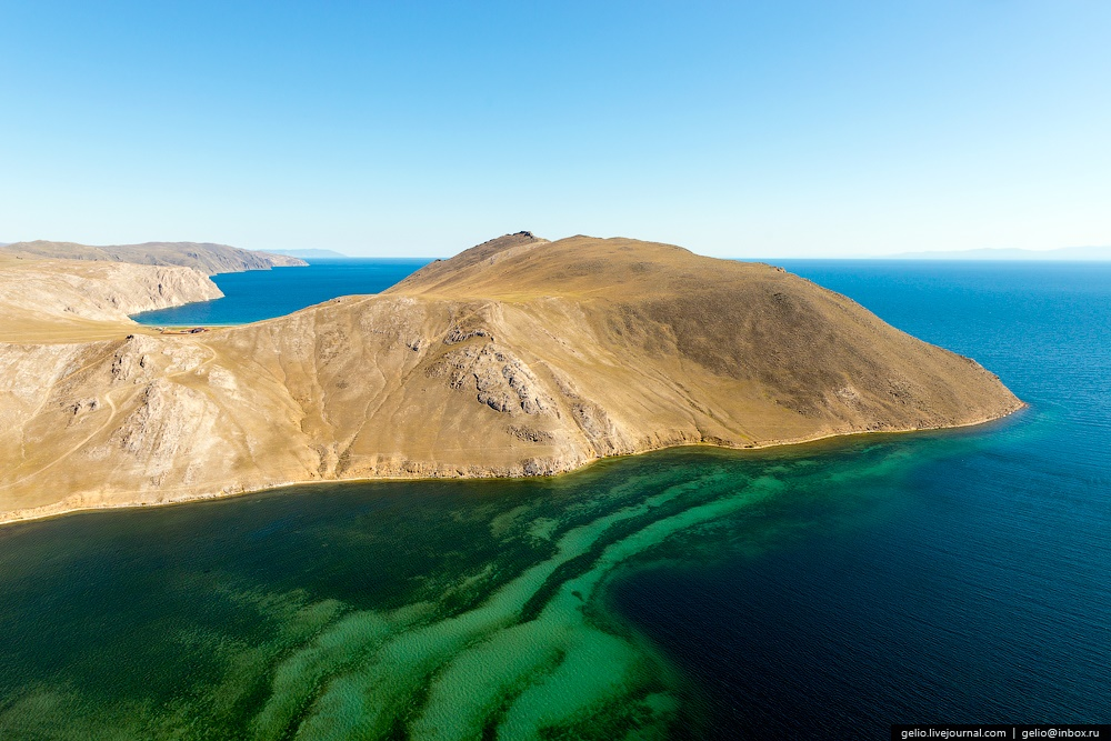 Winter and summer lake Baikal: Delightful photos from the sky - 42