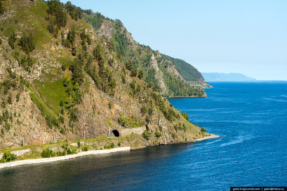 Winter and summer lake Baikal: Delightful photos from the sky - 44