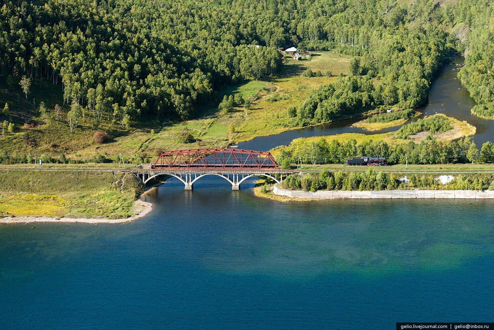 Winter and summer lake Baikal: Delightful photos from the sky - 47