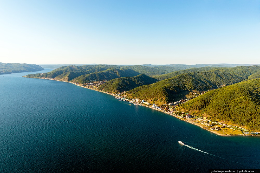 Winter and summer lake Baikal: Delightful photos from the sky - 50