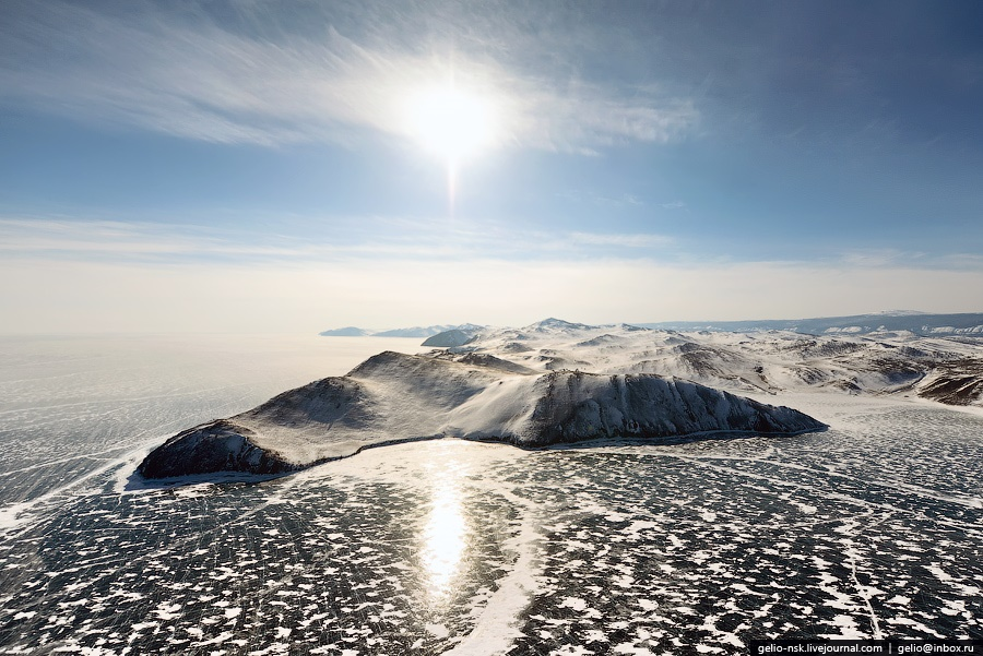 Winter and summer lake Baikal: Delightful photos from the sky - 6