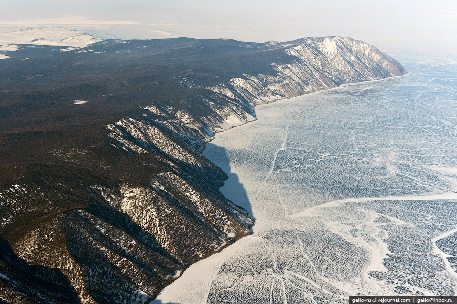 Winter and summer lake Baikal: Delightful photos from the sky - 7