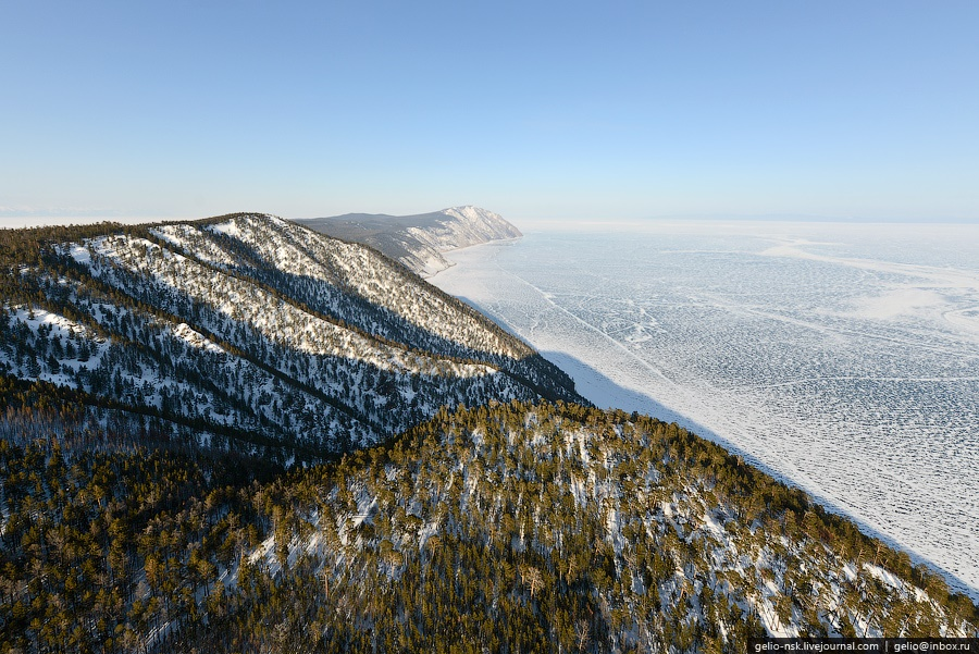 Winter and summer lake Baikal: Delightful photos from the sky - 8