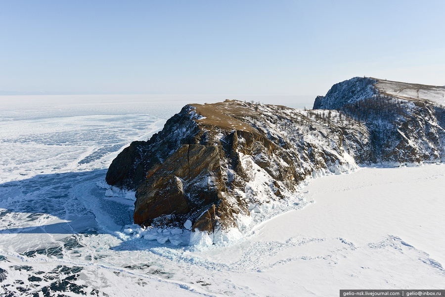 Winter and summer lake Baikal: Delightful photos from the sky - 9