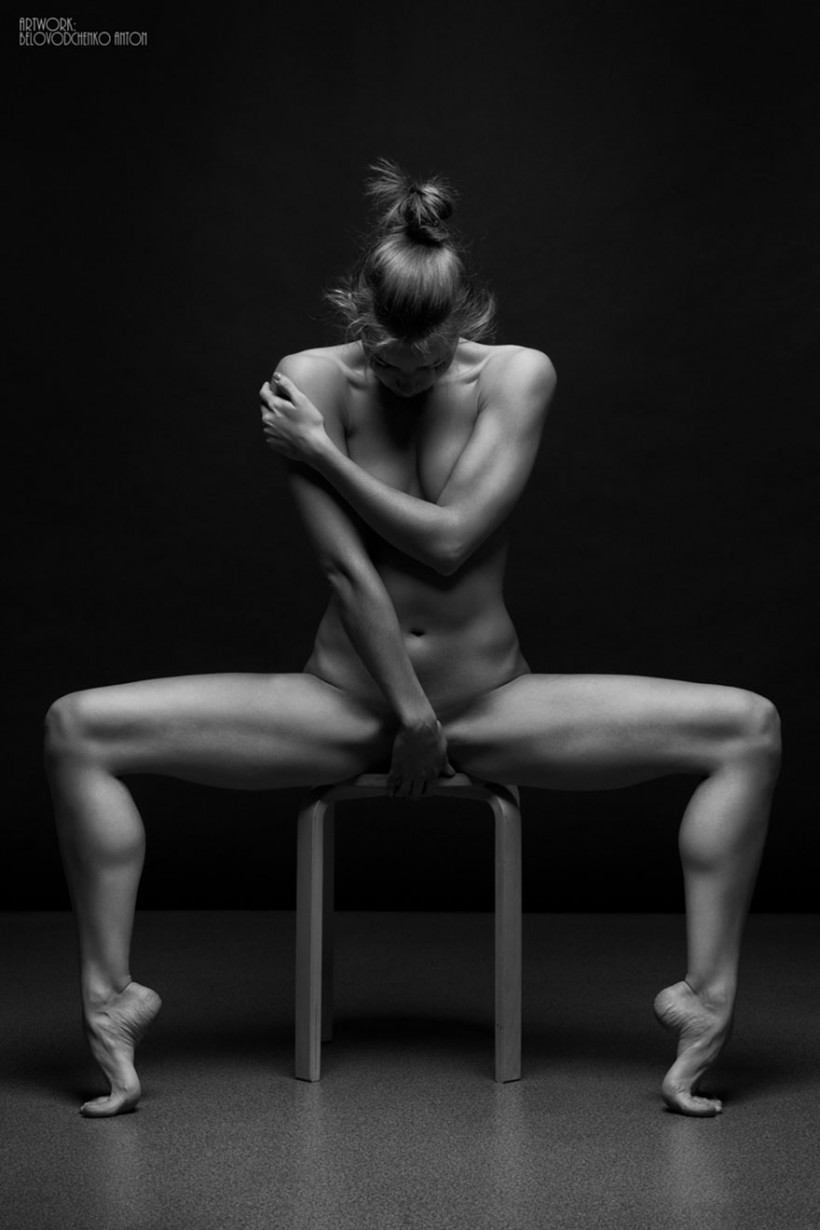 Womens shapes: Bodyscape photos by Anton Belovodchenko - 17