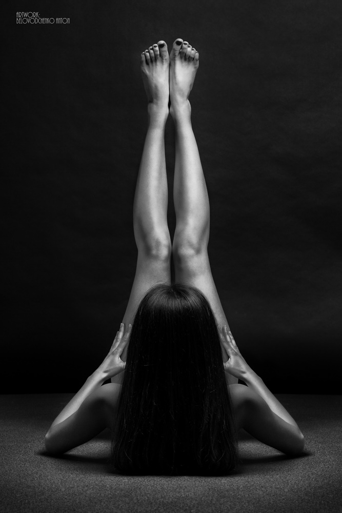 Womens shapes: Bodyscape photos by Anton Belovodchenko - 2