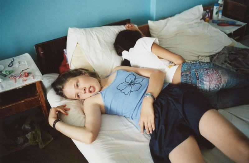 Ambiguous photos of the kids camp Artek by Claudine Doury - 4
