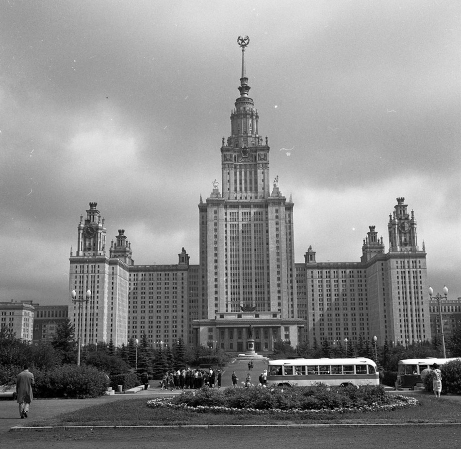 Moscow in 1963: Vintage photographs by Gerald Bloncourt - 17