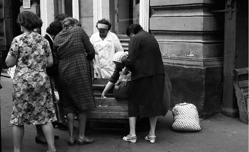 Moscow in 1963: Vintage photographs by Gerald Bloncourt - 19