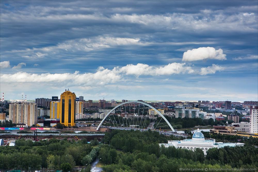 Night Astana: Urban landscapes of the capital of Kazakhstan - 1