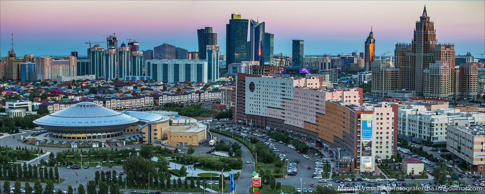 Night Astana: Urban landscapes of the capital of Kazakhstan - 15