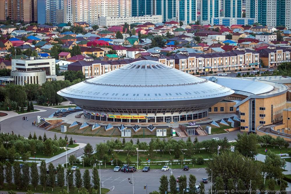 Night Astana: Urban landscapes of the capital of Kazakhstan - 16