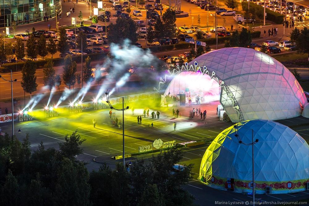 Night Astana: Urban landscapes of the capital of Kazakhstan - 18