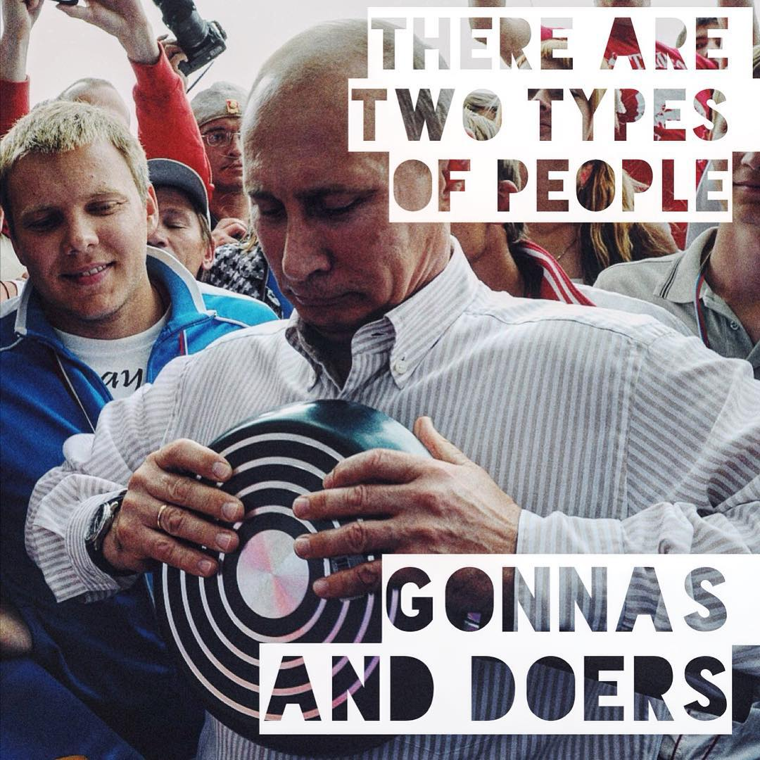 Putinspiration: sarcastic motivational pictures with Putin - 14