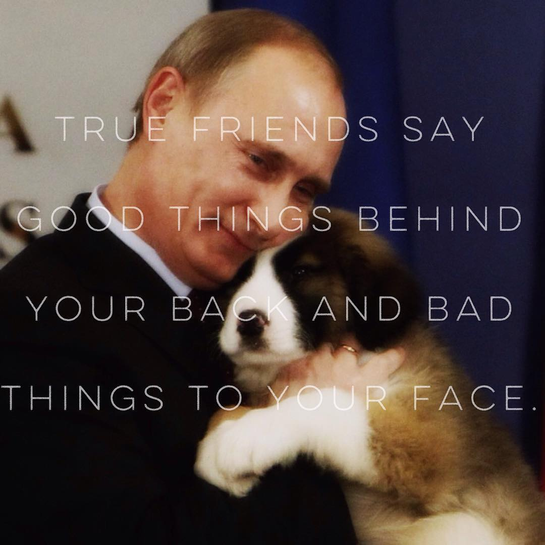 Putinspiration: sarcastic motivational pictures with Putin - 15