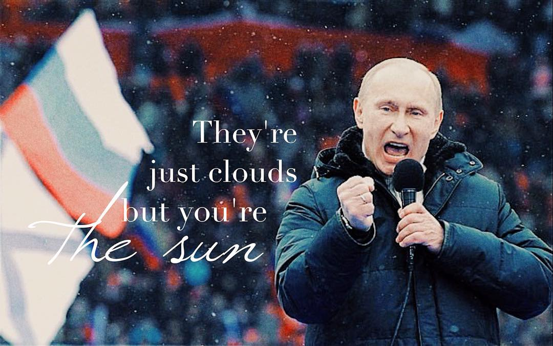Putinspiration: sarcastic motivational pictures with Putin - 17