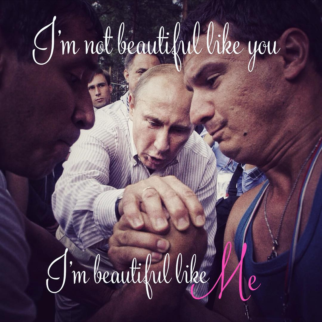 Putinspiration: sarcastic motivational pictures with Putin - 20