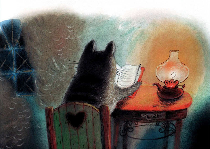 Warm Autumn on the dreamy illustrations by Diana Lapshina - 1