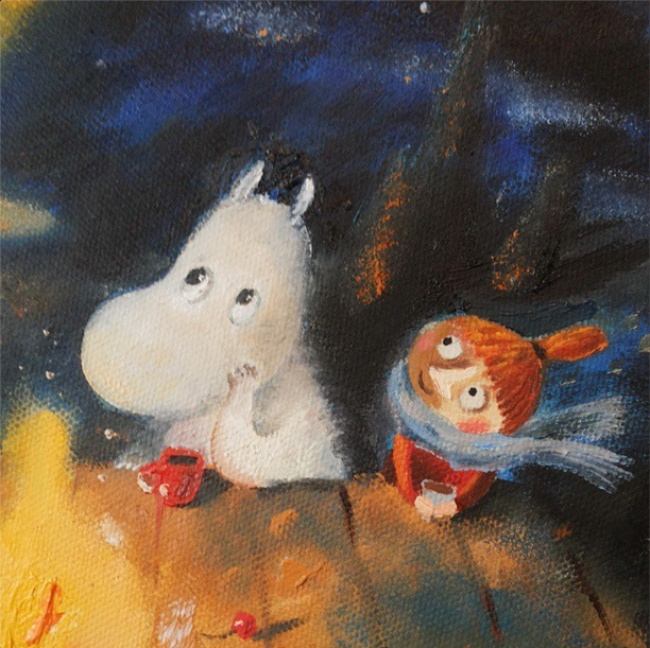 Warm Autumn on the dreamy illustrations by Diana Lapshina - 10