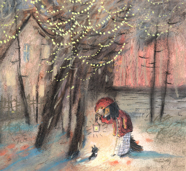Warm Autumn on the dreamy illustrations by Diana Lapshina - 13