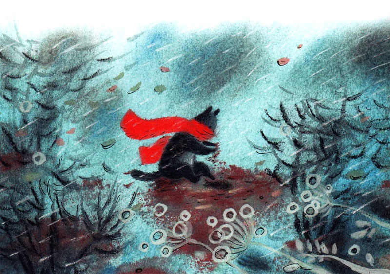 Warm Autumn on the dreamy illustrations by Diana Lapshina - 20