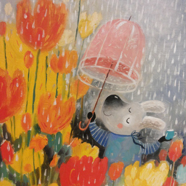 Warm Autumn on the dreamy illustrations by Diana Lapshina - 24