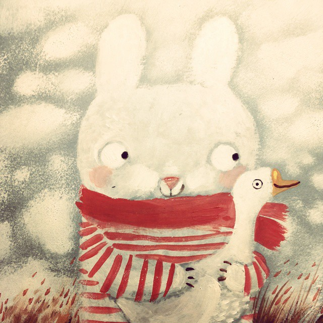 Warm Autumn on the dreamy illustrations by Diana Lapshina - 25
