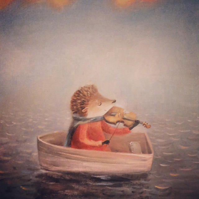 Warm Autumn on the dreamy illustrations by Diana Lapshina - 28