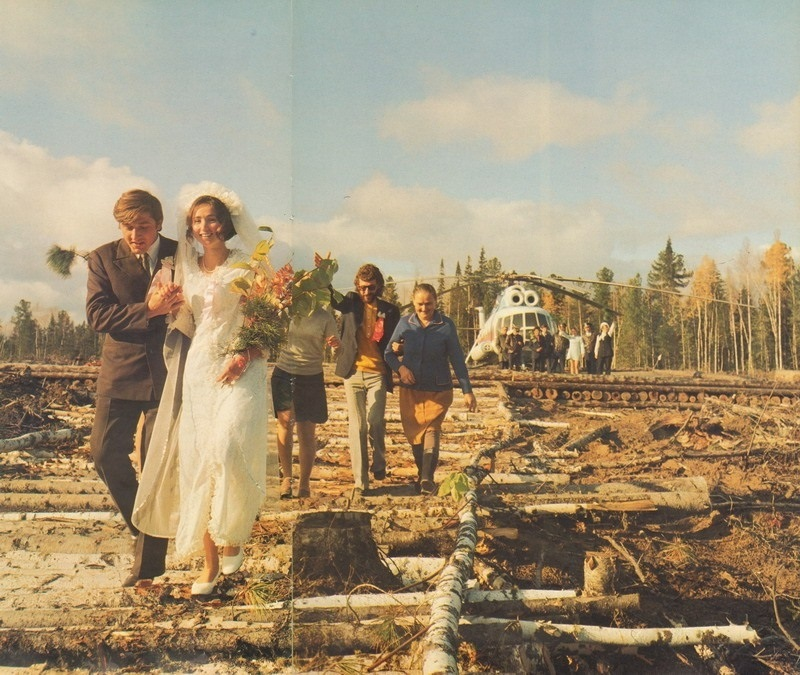 Colour of Soviet weddings on photographs of the bygone era - 4