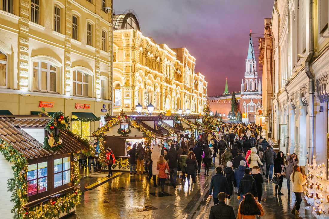 Festival of Christmas and New Year in Moscow - 15